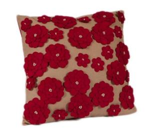 flroal roshini cushion