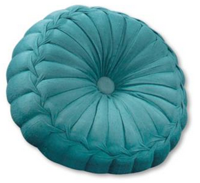 Pinwheel silk scatter cushion