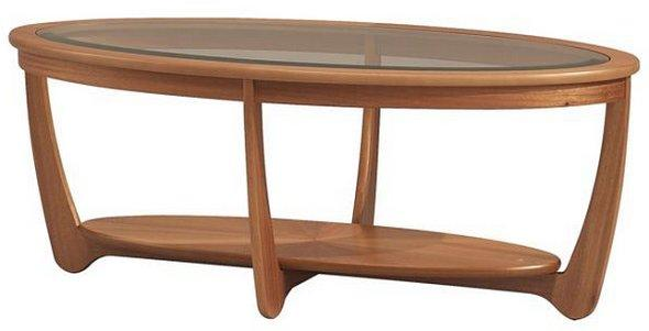 Nathan Glass Coffee Table