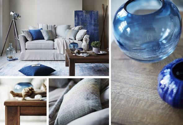 natural materials to create coastal style