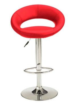 Red plump stool
