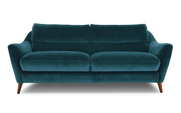 Remy Sofa in teal