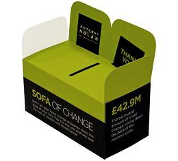 Sofa of change box