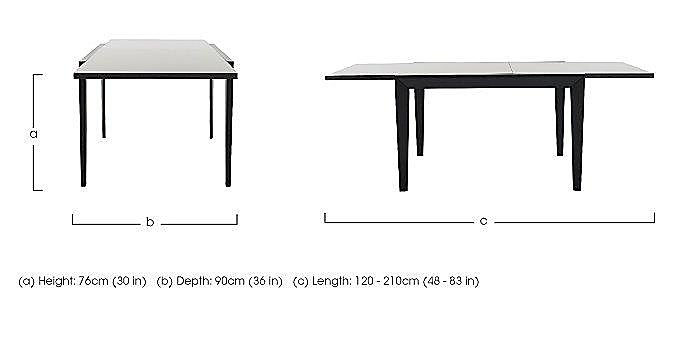 Abaco Extending Dining Table in  on FV