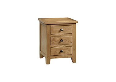 Addison 3 Drawer Bedside Cabinet in  on Furniture Village