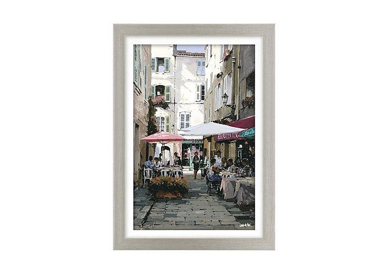 Afternoon Café I Framed Art