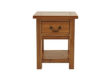 Arlington Lamp Table with Drawer in  on FV