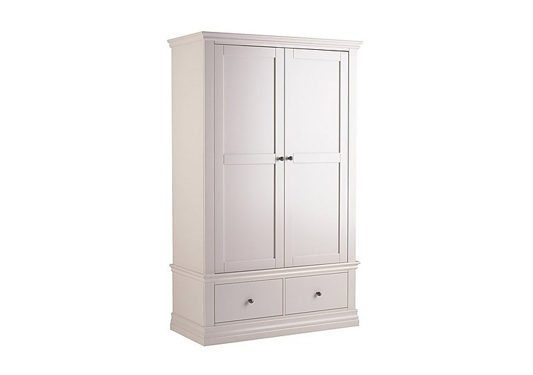 Ambriella Double Wardrobe with Drawers in  on FV