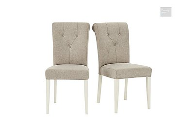 Annecy Pair of Upholstered Dining Chairs  in {$variationvalue}  on FV