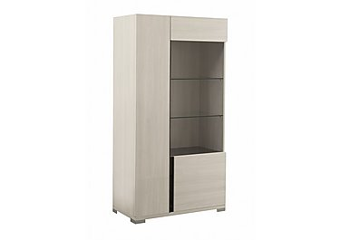 Andorra 2 Door Curio Cabinet in  on Furniture Village