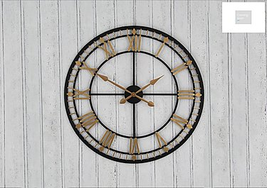 Antique Wall Clock  in {$variationvalue}  on FV