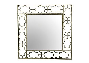 Antique Gold Design Mirror in  on FV