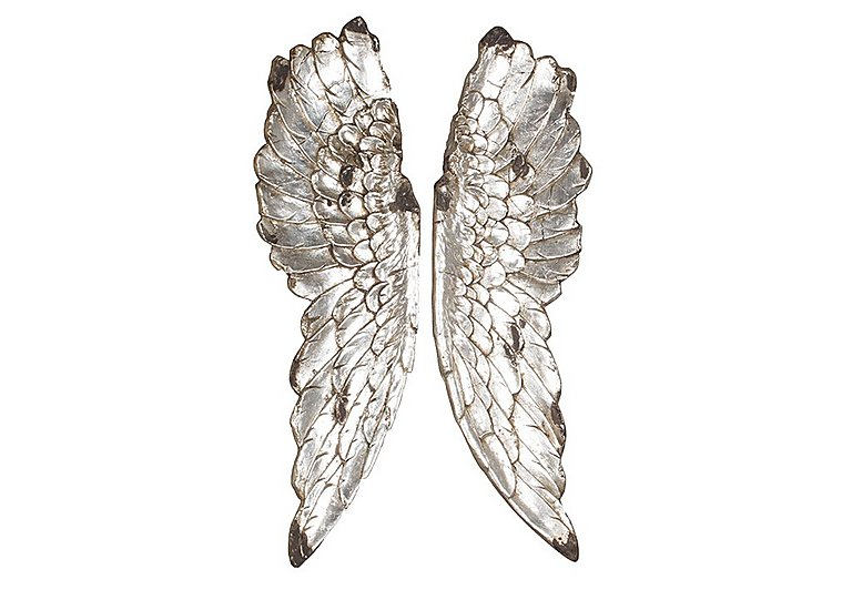 Furniture Village Belfast angel wings silver - furniture village