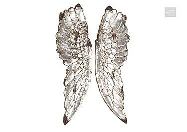 Angel Wings Silver  in {$variationvalue}  on FV