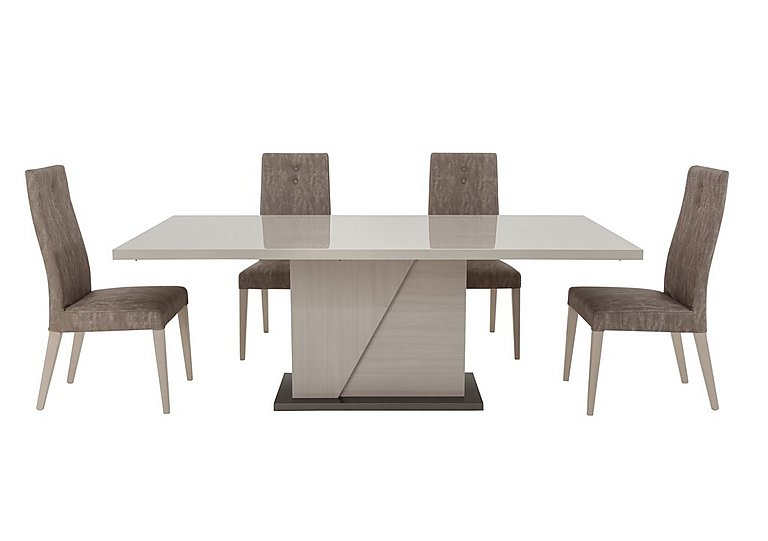 Alpine Dining Table and 4 Dining Chairs