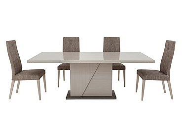 Alpine Dining table with 4 dining chairs