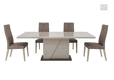 Alpine Dining table with 4 dining chairs  in {$variationvalue}  on FV