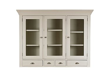 Arles Large 3 Door Glazed Hutch