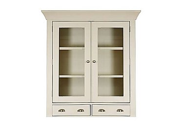 Arles Small 2 Door Glazed Hutch in  on FV