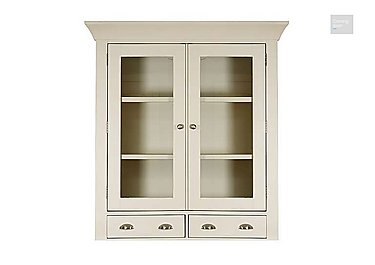 Arles Small 2 Door Glazed Hutch  in {$variationvalue}  on FV