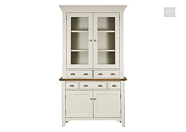 Arles Small 2 Door Sideboard with Glazed Hutch  in {$variationvalue}  on FV