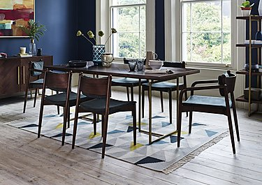 Art Deco Table and 4 Dining Chairs in  on Furniture Village