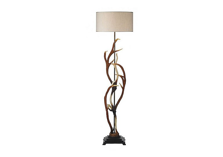 Antler Rustic Floor Lamp in  on Furniture Village