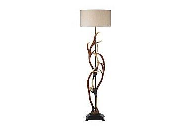 Antler Rustic Floor Lamp in  on FV