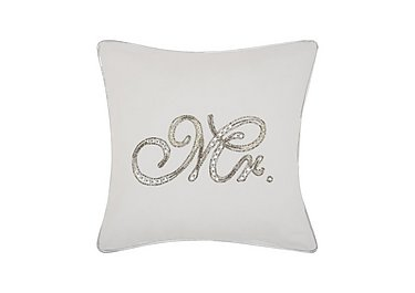 Beaded Mr Cushion in  on FV
