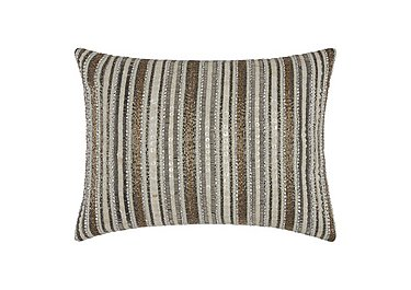 Beaded Stripes Cushion in  on Furniture Village