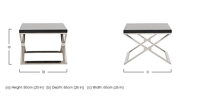 Bali Lamp Table in  on Furniture Village