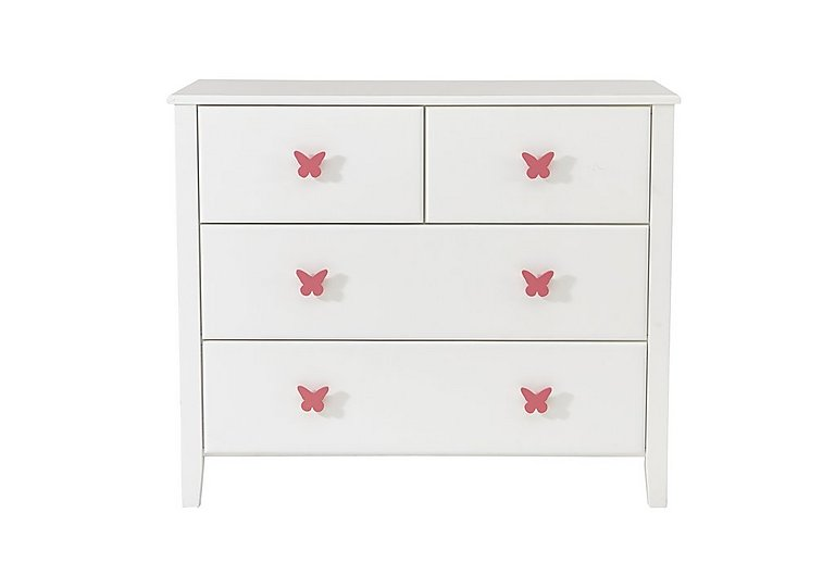 Blossom 4 Drawer Chest in  on FV