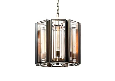 Brompton Large Pendant Light in  on FV