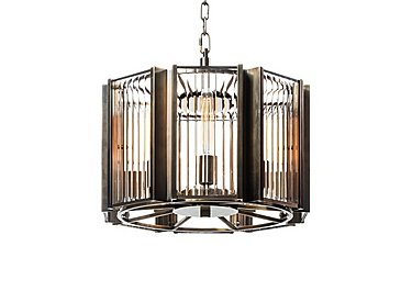 Brompton Small Pendant Light in  on FV