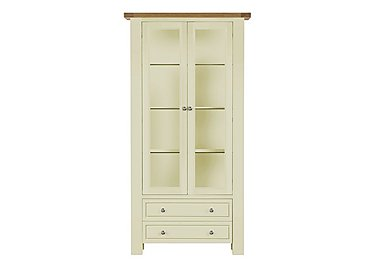 Bordeaux Painted Oak Display Cabinet in  on FV