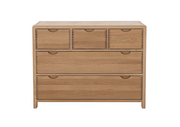 Bosco 5 Drawer Wide Chest