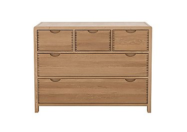 Bosco 5 Drawer Wide Chest in  on FV