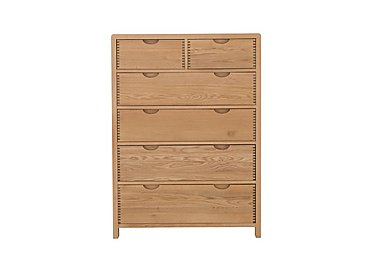 Bosco 6 Drawer Tall Wide Chest