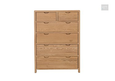 Bosco 6 Drawer Tall Wide Chest  in {$variationvalue}  on FV