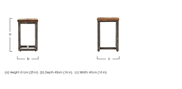 Barbican Lamp Table  in {$variationvalue}  on FV