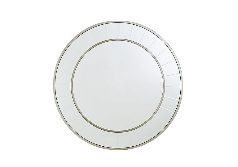 Brilliant Cut Circle Mirror in  on FV
