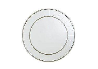 Brilliant Cut Circle Mirror in  on Furniture Village