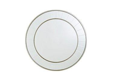 Brilliant Cut Circle Mirror