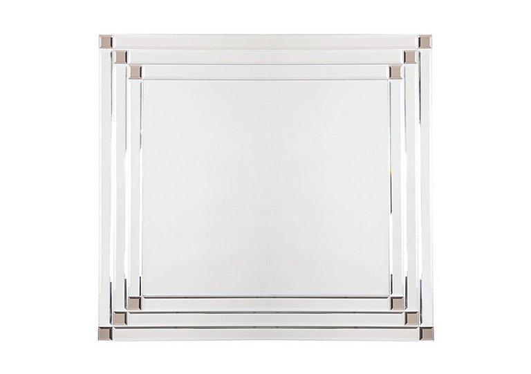 Bronze Corner Detail Mirror in  on FV