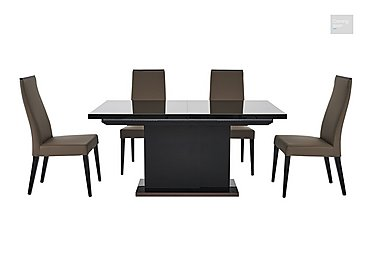 Marco Polo Extending Dining Table and 4 Chairs  in {$variationvalue}  on FV
