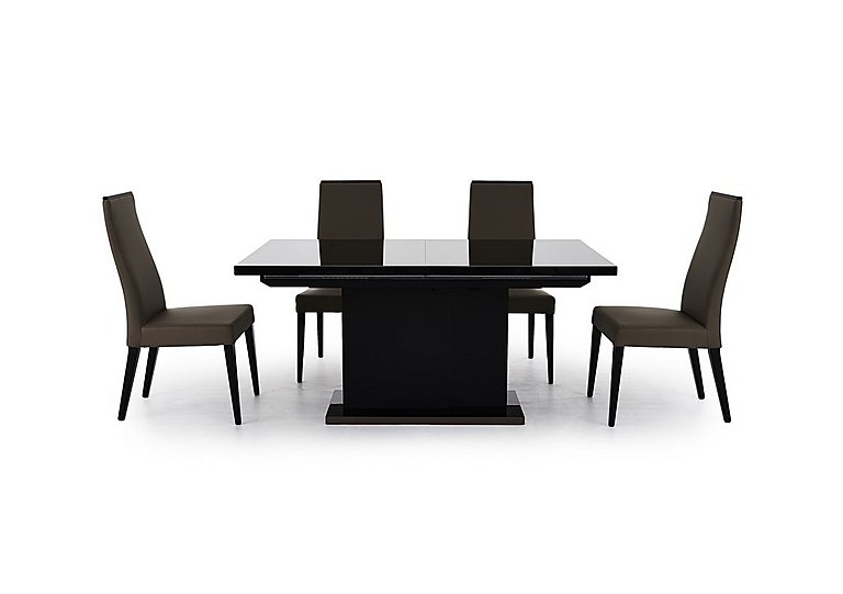 Furniture Village Dining Chairs marco polo extending dining table and 4 chairs - alf - furniture