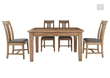 Provence Extending Oak Table & 4 Chairs  in {$variationvalue}  on FV