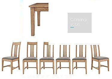 Provence Extending Oak Table & 6 Chairs in  on FV