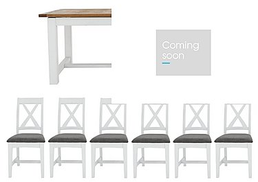 Parquet Dining Tables and 6 Chairs in  on FV