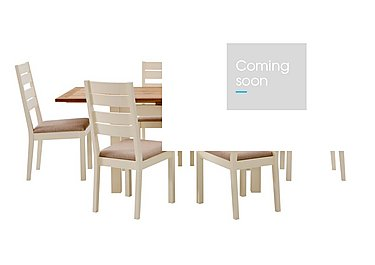 Compton Extending Dining Table and 6 Slatted Chairs in  on FV